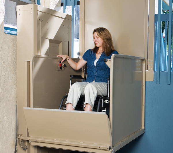 Vertical Platform Lift : Vertical platform lifts lincoln mobility
